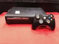 XBOX 360 ELITE 120GB WITH 12 MONTH WARRANTY THAT COVERS XBOX, CONTROLLER + ALL CABLES/POWERLEAD