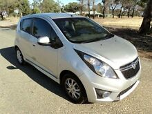2014 Holden Barina Spark MJ MY14 CD Silver 4 Speed Automatic Hatchback Pearsall Wanneroo Area Preview