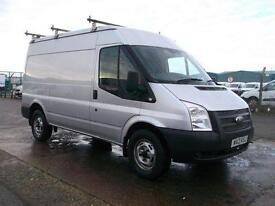 Ford Transit 100T350 MWB MEDIUM ROOF 100PS VAN DIESEL MANUAL SILVER (2013)