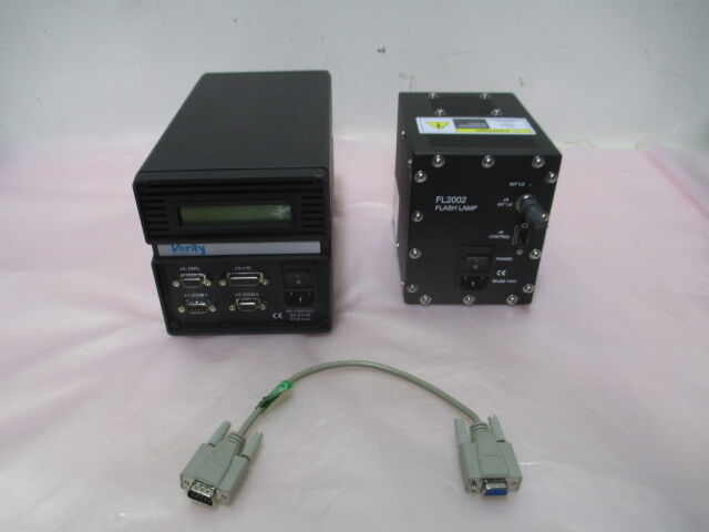 Verity SD1024D-7 Spectrometer w/ Verity FL2002 Flashlamp, SpeedFam IPEC, 329823
