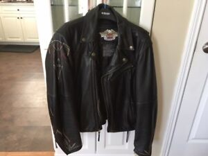 Harley Davidson Ace of Spades leather jacket