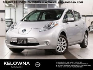 2016 Nissan Leaf S Electric W Quick Charge Package
