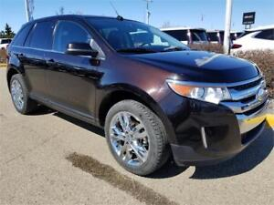 2013 Ford Edge Limited V6 AWD Leather Nav Sunroof