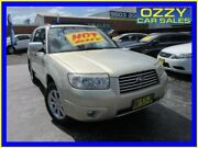 2006 Subaru Forester MY06 X Luxury Gold 4 Speed Auto Elec Sportshift Wagon Minto Campbelltown Area Preview