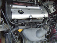 PEUGEOT 406 16V ENGINE Breaking for parts in GATWICK AREA .
