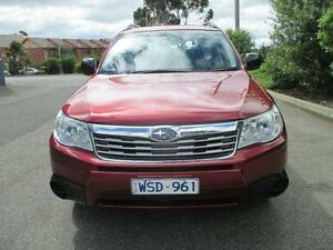2008 Subaru Forester MY08 XS Red 4 Speed Auto Elec Sportshift Wagon Hoppers Crossing Wyndham Area Preview