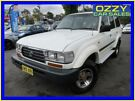 1997 Toyota Landcruiser GXL 40th Ann LE (4x4) White 4 Speed Automatic 4x4 Wagon Minto Campbelltown Area image 2