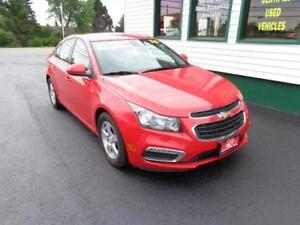 2015 Chevrolet Cruze 2LT(LEATHER!) for only $135 bi-weekly!