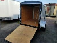 ENCLOSED TRAILER 5X8 DELUXE WITH RAMP Edmonton Edmonton Area Preview