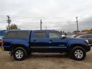 2005 TOYOTA TACOMA CREWCAB-SRS V6-4X4-4.0L-6 SPEED-WITH CANOPY
