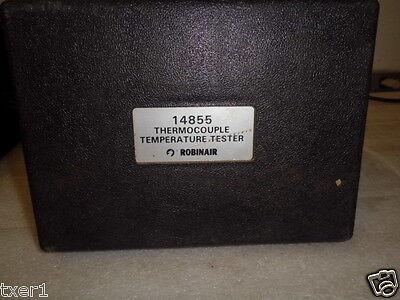 Robinair 14855 Thermocouple Temperature Tester