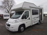 2009 COMPASS AVANTE GARDE 130 5 BERTH MOTORHOME WITH ONLY 25K MILES ANDERSON CARAVAN SALES