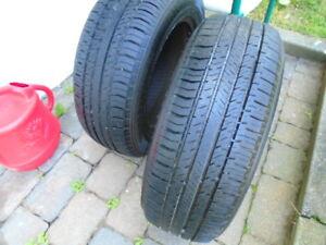 2 pneus 185-65-14 (été)