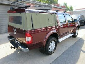 2004 Holden Rodeo RA LT (4x4) Burgundy 4 Speed Automatic Crew Cab P/Up Holden Hill Tea Tree Gully Area Preview