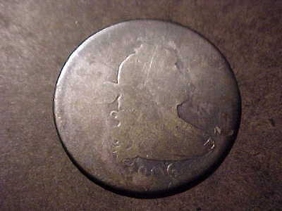 1806/5 Overdate  AG   Draped Bust Quarter  Rare Coin