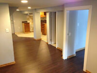 Brand New Never Lived in Basement with Separate Entrace