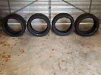 4 Winter sports tyres: Merc E Class. Nankang Snow 2x 255/35R18 94V ; 2x 235/40R18 95V. Excellent