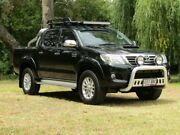2014 Toyota Hilux KUN26R MY14 SR5 Double Cab Black 5 Speed Manual Utility Hahndorf Mount Barker Area Preview