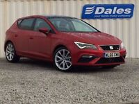 Seat Leon 1.4 EcoTSI FR Technology 5dr (red) 2017