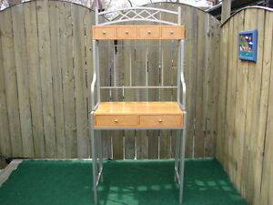 Baker rack Table for the kitchen area