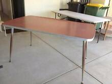 1960's RED LAMINEX DINNER TABLE+small timber table Maddington Gosnells Area Preview
