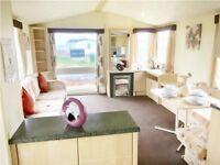 Caravans for sale 4 berth, 12 month park, 10% deposit, full facilities, direct beach-North Yorkshire