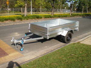 New 7x4 350 sides Galvanised & 7 x5 450 ht &8 x5 400 ht special Beenleigh Logan Area Preview
