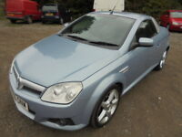 Vauxhall Tigra 1.4I 16V EXCLUSIV, CAT D INSURANCE WRITE OFF (blue) 2006