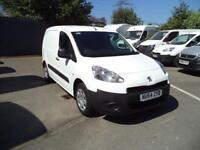 Peugeot Partner L1 850S 1.6HDi 92PS Van Euro 5 DIESEL MANUAL WHITE (2014)