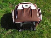 Excellent condition 'wheelable' bag with trolley