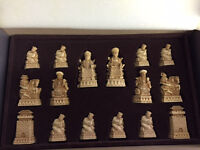 Chess Set - Court of the Chinese Emperor Shanghai