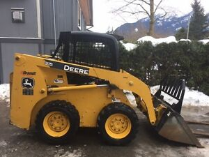 JD 315 SKID STEER