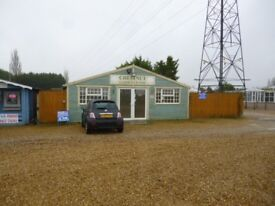 for rent shop yard on busy business park walsoken large yard lynn road wisbech