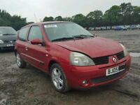 Breaking Renault Clio MK2 Red Burgandy Most Parts Are Available