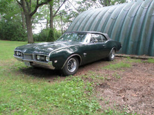 WANTED 68 OLDS CUTLASS SUPREME  FRONT BUMPER
