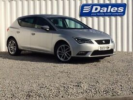 Seat Leon 1.4 TSI SE 5Dr [technology Pack] Hatchback (ice silver) 2013
