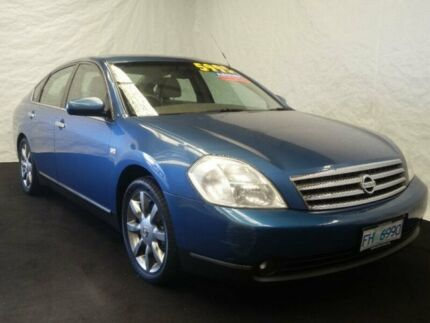 2004 Nissan Maxima J31 TI Blue 4 Speed Automatic Sedan Derwent Park Glenorchy Area Preview