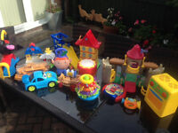 Assorted toys-job lot