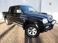 Mitsubishi L200 Warrior LWB ....Crew Cab with Full Leather Interior, Excellent Condition, Low Miles