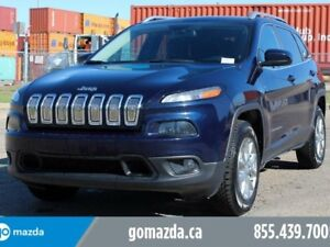 2015 Jeep Cherokee North 4X4 2 SETS OF TIRES ACCIDENT FREE 1 OWN