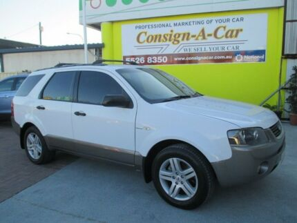 2005 Ford Territory SY TX AWD White 6 Speed Sports Automatic Wagon