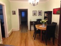 Mile End / Plateau Large 5 1/2 RDC  renovated Rue Waverly