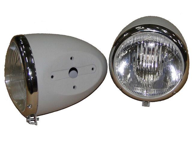 2 Hauptscheinwerfer Scheinwerfer mit Gehäuse für Güldner G30 G40 G45 G50 Traktor Foto 1