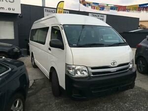 2012 Toyota Hiace Commuter White Automatic Bus Dandenong Greater Dandenong Preview