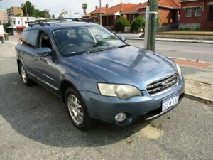 2006 Subaru Outback B4A MY06 D/Range AWD Blue 5 Speed Manual Wagon West Perth Perth City Area Preview
