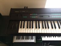 Yamaha DX7 Classic 1980's Vintage Synth Keyboard