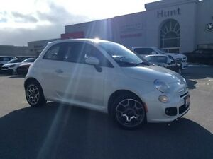 2013 Fiat 500 SPORT, 5 SPEED, ALLOYS, BLUETOOTH & MORE!!!