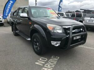 2011 Ford Ranger PK XLT (4x4) Black Mica 5 Speed Automatic Dual Cab Pick-up