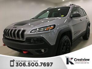 2018 Jeep Cherokee Trailhawk Leather Plus 4x4 V6 | Sunroof | Nav