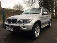 BMW X5 3.0 SPORT EXCLUSIVE SHOWROOM CONDITION FSH SAT NAV PANORAMIC SUNROOF